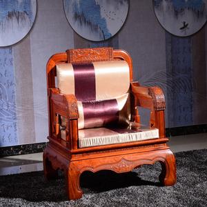 东阳红木家具缅甸花梨木沙发大果紫檀软体沙发
