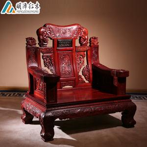 明泽红木家具老挝红酸枝沙发巴里黄檀彪云沙发缅甸花梨木客厅沙发